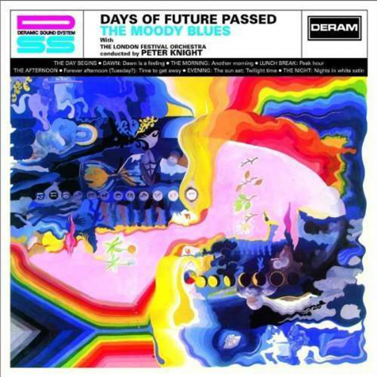 The Moody Blues. Days Of Future Passed. CD.