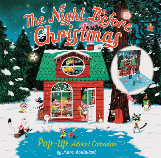 The Night Before Christmas Pop-Up Adventskalender.