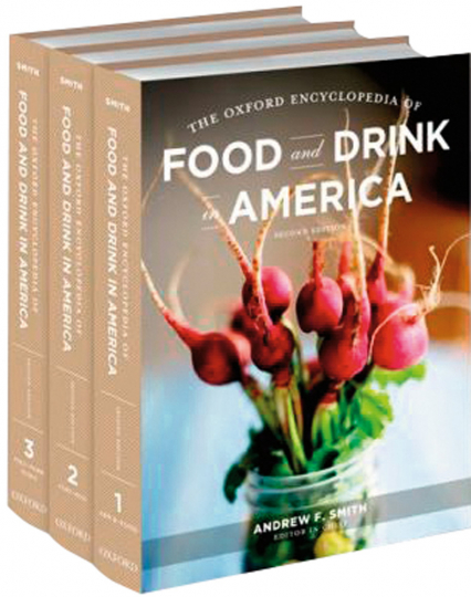 The Oxford Encyclopedia of Food and Drink in America. 3 Bände.