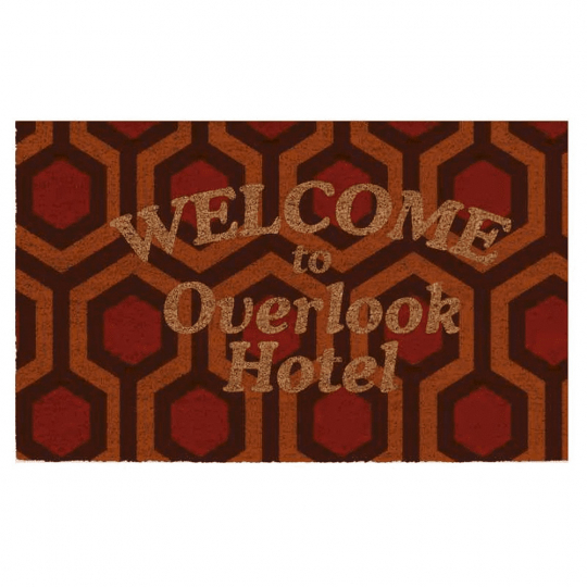 The Shining Overlook Hotel-Fußmatte.