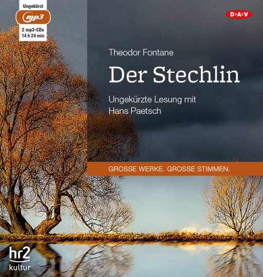 Theodor Fontane. Der Stechlin. Hörbuch. 2 CDs.