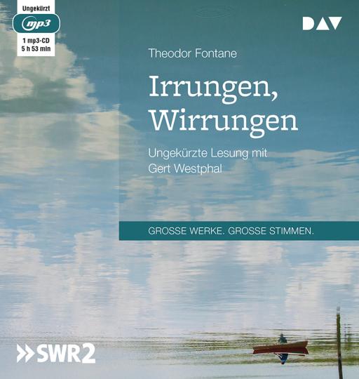 Theodor Fontane. Irrungen, Wirrungen. Ungekürzte Lesung. 1 mp3-CD.