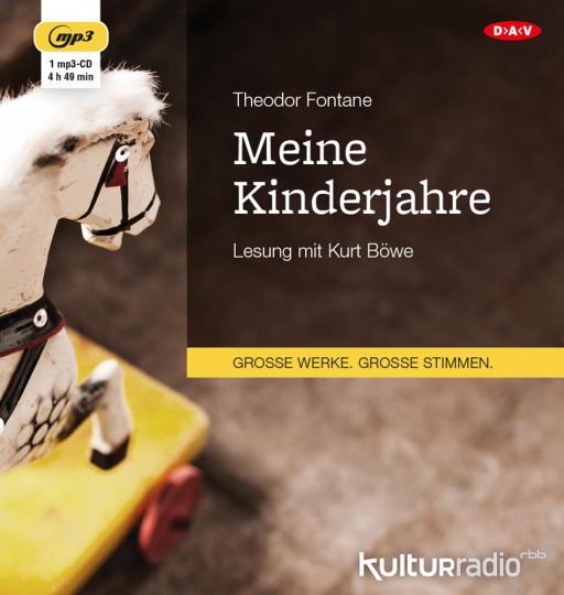 Theodor Fontane. Meine Kinderjahre. mp3-CD.