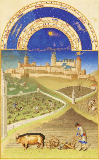 The »Très Riches Heures« of Jean, Duke of Berry. Stundenbuch des Duc de Berry.