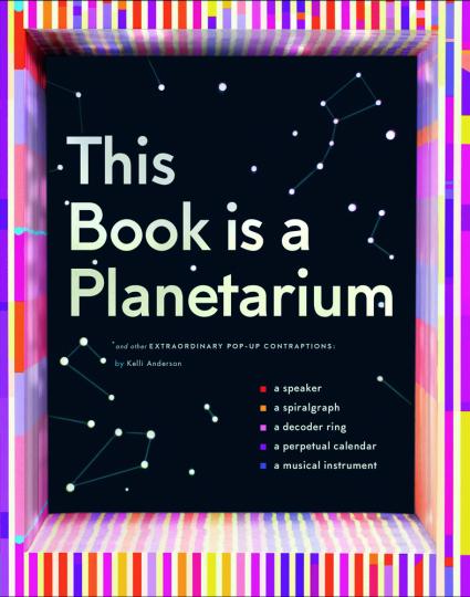 This Book Is a Planetarium. Und andere außergewöhnliche Pop-Up-Konzepte.