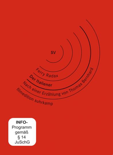 Thomas Bernhard. Der Italiener. DVD.