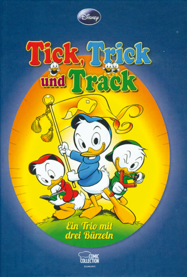 Tick, Trick und Track. Ein Trio mit drei Bürzeln