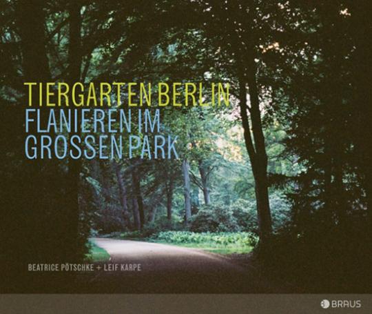 Tiergarten. Flanieren im großen Park.