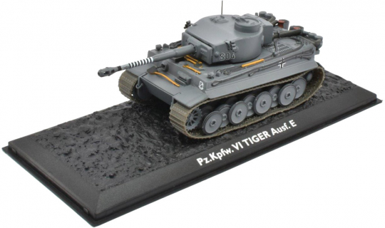 Tiger VI Ausf. E - Modell 1:72.