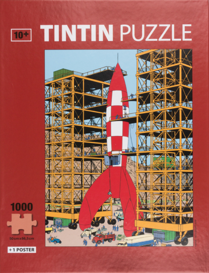 Tim und Struppi-Puzzle »Ready for Takeoff«.