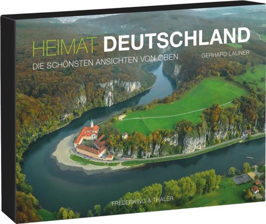 Tischaufsteller. Heimat Deutschland. Die 365 schönsten Ansichten von oben.