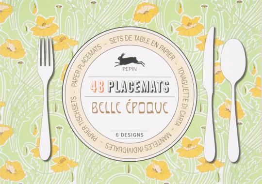 Tischsets »Belle Époque«.