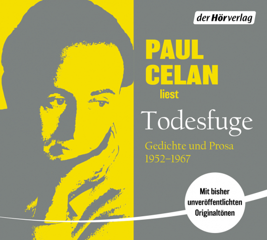 Todesfuge. Gedichte und Prosa 1952-1967. CD.