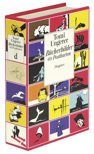Tomi Ungerer. Bücherbilder. 60 Postkarten.
