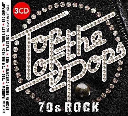 Top of the Pops - 70s Rock 3 CDs