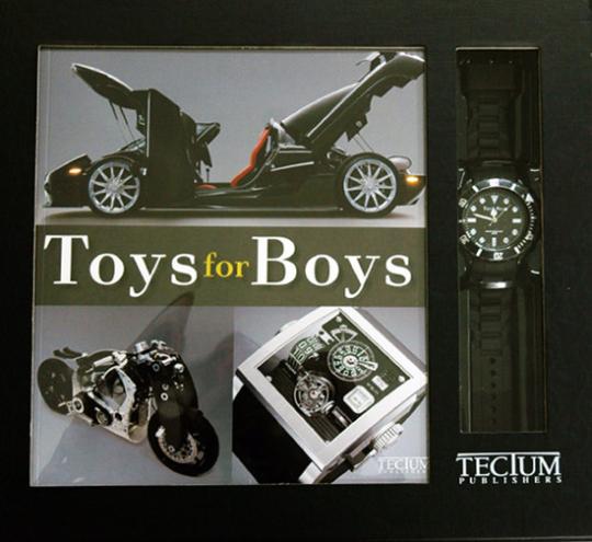 Toys for Boys. Geschenkset.