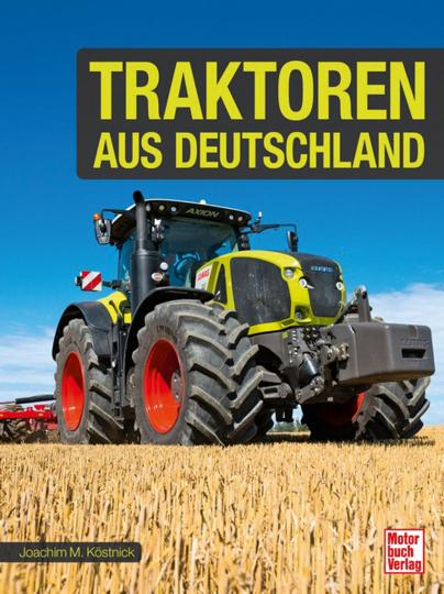 Traktoren aus Deutschland.