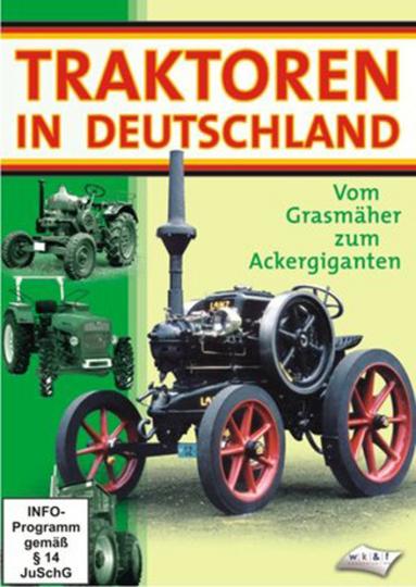 Traktoren in Deutschland - Vom Rasenmäher zum Ackergiganten. DVD.