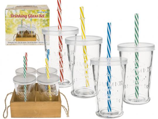 Trinkglas-Set 4 Stück