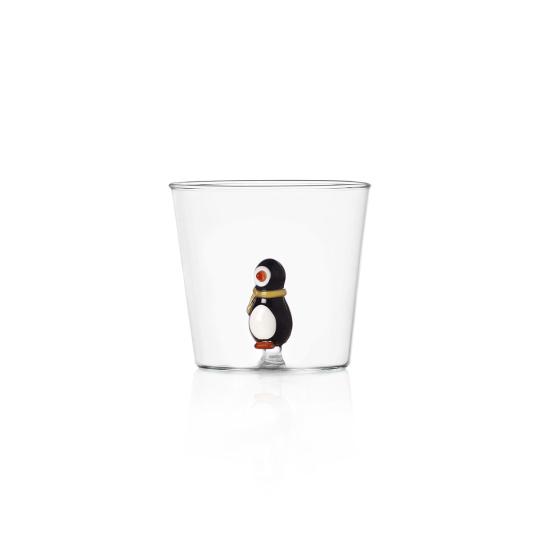 Trinkglas »Kleiner Pinguin«.