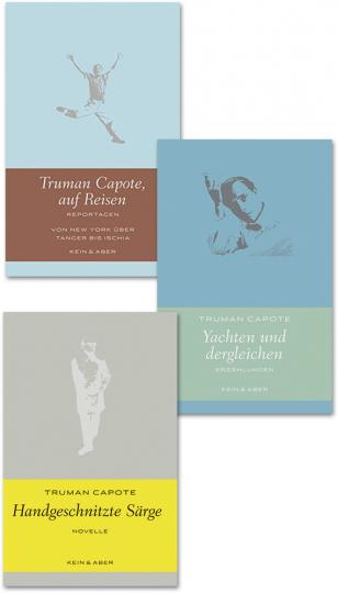 Truman Capote. Auf Reisen, Reportagen. Handgeschnitzte Särge, Tatsachenbericht. Yachten und dergleichen, Erzählungen.