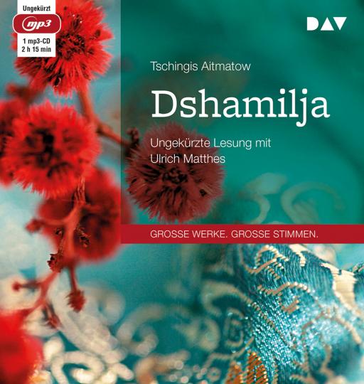 Tschingis Aitmatow. Dshamilja. mp3-CD.