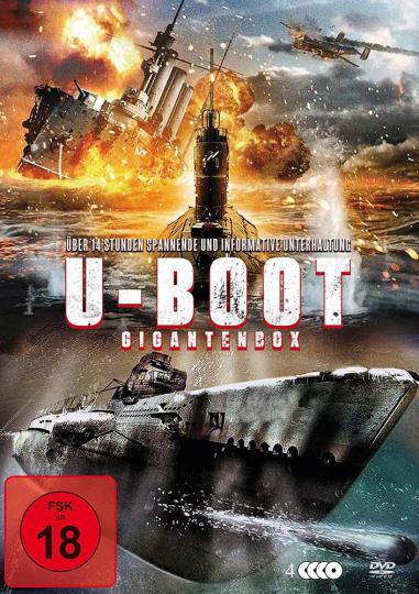 U-Boot Gigantenbox. 4 DVDs.