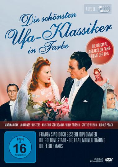 UFA Klassiker in Farbe 4 DVDs