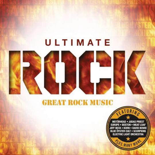 Ultimate Rock. 4 CDs.