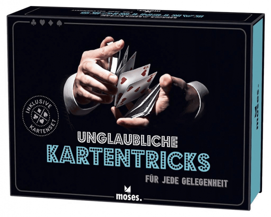 Unglaubliche Kartentricks.