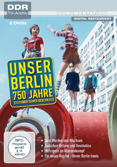 Unser Berlin - 750 Jahre 2 DVDs
