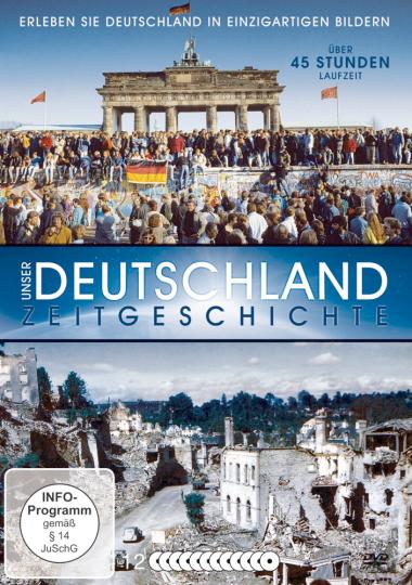 Unser Deutschland - Zeitgeschichte. 12 DVDs.