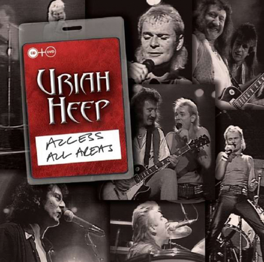 Uriah Heep. Access All Areas. CD + DVD.
