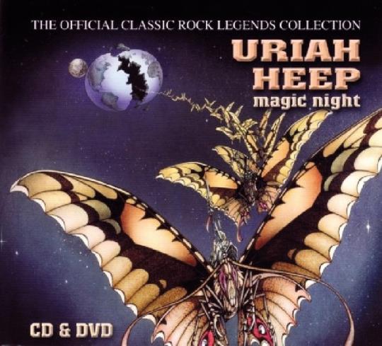 Uriah Heep. Magic Night. CD + DVD.