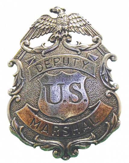 US Deputy Marshal-Stern Adler nickelfrei
