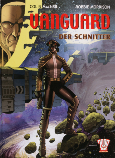 Vanguard. Der Schnitter. Graphic Novel.
