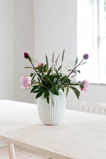Vase »Hammershøi groß«, weiß.