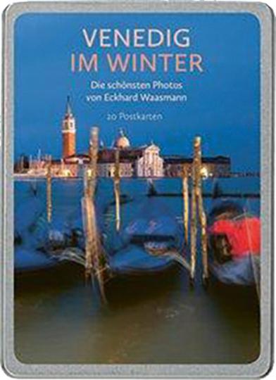 Venedig im Winter. Postkarten-Set.