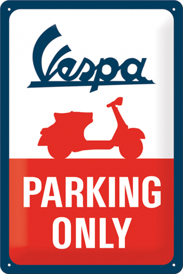 Vespa - Parking only