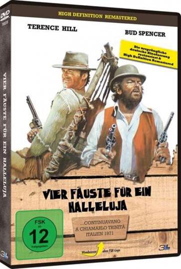 Vier Fäuste für ein Halleluja. DVD.
