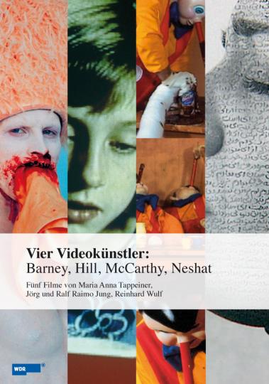 Vier Videokünstler. Matthew Barney, Gary Hill, Paul McCarthy, Shirin Neshat. 2 DVDs.