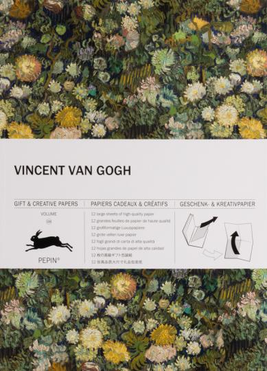 Geschenkpapierbuch »Vincent van Gogh«.