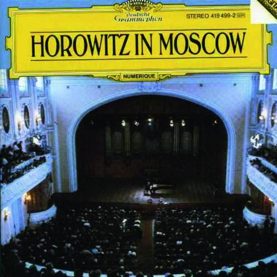 Vladimir Horowitz. Horowitz in Moscow. CD.