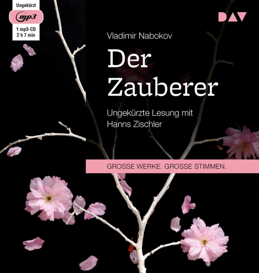 Vladimir Nabokov. Der Zauberer. mp3-CD.