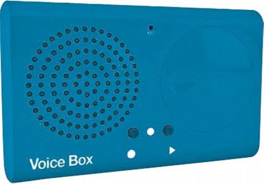 Aufnahmegerät »Voice Box«.