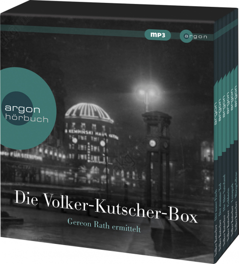 Volker Kutscher. Hörbuch-Box. 6 mp3-CDs.
