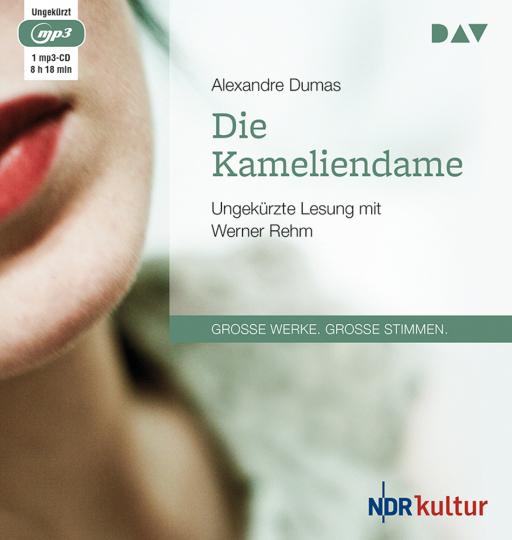 Von Alexandre Dumas. Die Kameliendame. mp3-CD.