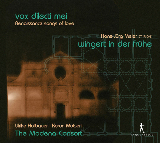 Vox Dilecti Mei - Renaissance Songs of Love. CD.