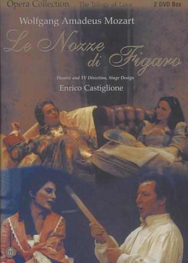 W.A. Mozart. Le Nozze di Figaro. DVD.