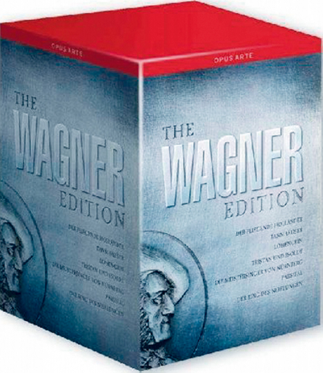 Wagner Edition 25 DVDs
